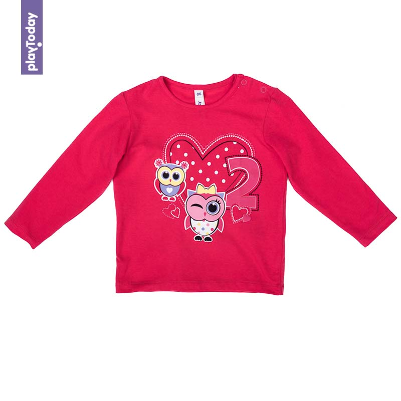 T-Shirts PLAYTODAY for girls 378023 Children clothes kids clothes