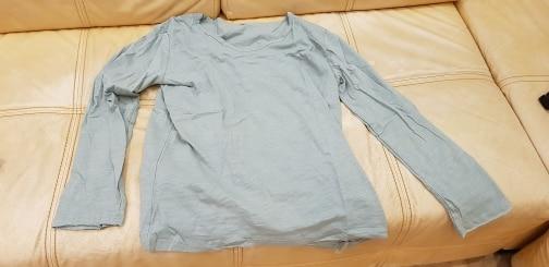 Men T Shirt Men Casual Leisure Fashion Long Sleeve Cotton Shirt Shirts V-Neck High Quality More Color Size S M L XL XXL Q017