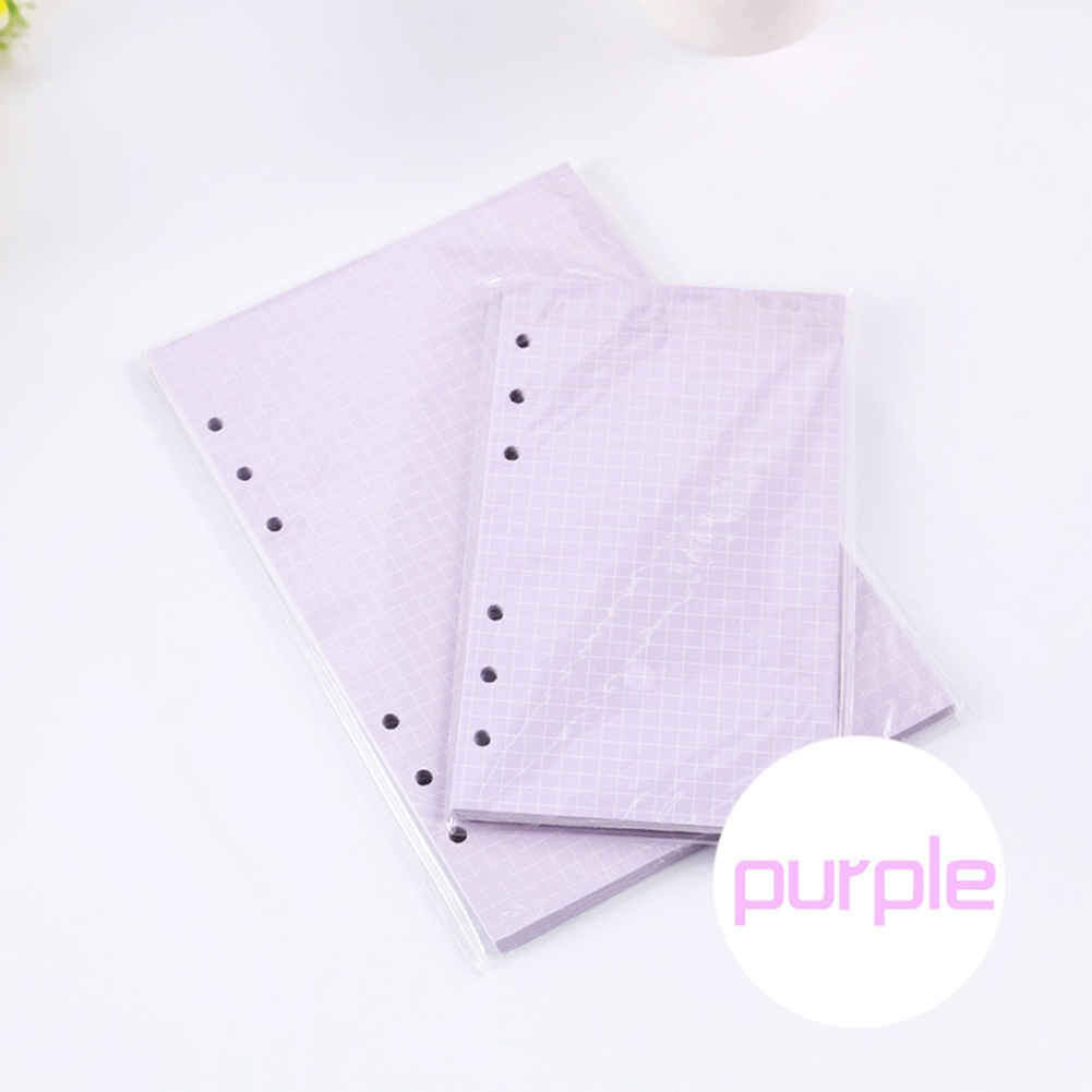 Korean Style 40 Sheets <font><b>A5</b></font>/A6 Creative Filler Papers Loose-leaf <font><b>Notebook</b></font> 6 Holes Office School Supplies cute gift image