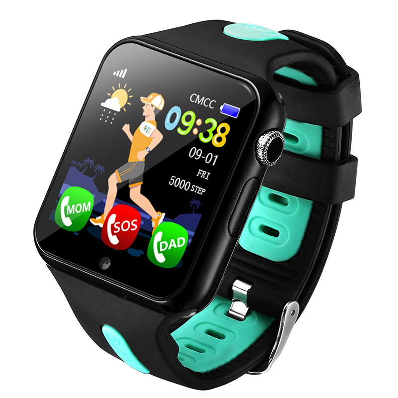 Children Smart Watch V5K GPS Watches Kids Safe Monitor with Camera Support SIM /TF Dial SOS Call Positioning Tracker for Phone цены онлайн