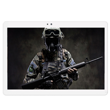 10.1 pulgadas Original 4G Llamada de Teléfono de Doble Tarjeta SIM Android 6.0 Octa núcleo CE Marca WiFi FM Tablet pc 4 GB + 64 GB 1920×1200 IPS Tablet Pc