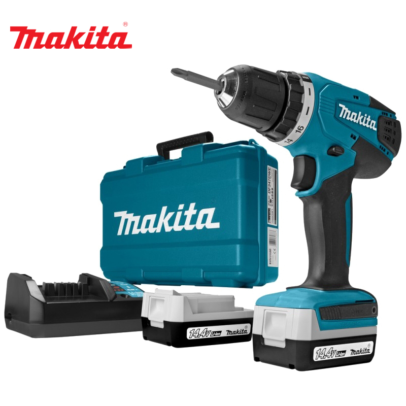 Cordless drill battery Makita DF347DWE аксессуар чехол nokia 8 soft leather flip cover black cp 801 1a21pr500va