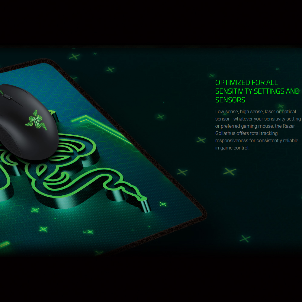 Image 3 - Razer Goliathus CONTROL Gaming Mouse Mat Soft Mouse Pad for Professional Gamers Small 215 mm*270 mm Medium 254 mm*355 mm Large-in Mouse Pads from Computer & Office