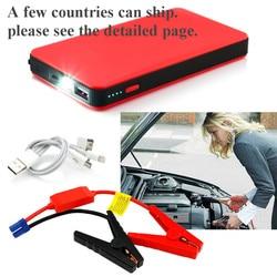 Portable Phone Auto Car Jump Starter Emergency Power Bank Battery Car Battery Booster 12V Mini Power Bank LED Light