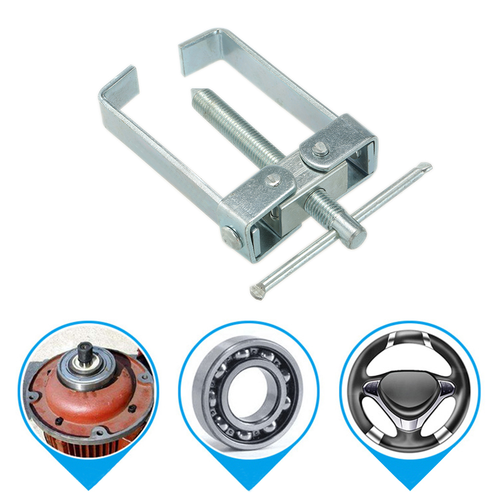 2 Jaw Bearing Puller Adjustable Gear Puller Tool Tempered Forged Gear Removal Repair Tool For Motorcycle Car Auto Straight Type