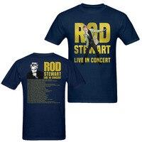 Rock Band T Shirt Rod Stewart Live In Concert 2018 Tour Date TShirt Men Women Kids