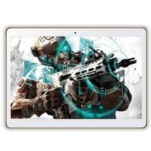 10 Pulgadas Llamada de Teléfono Original 4G LTE Octa Core Tablet PC Androide 6.0 4 GB RAM 64 GB ROM WiFi GPS FM Bluetooth Tabletas 1280×800 IPS