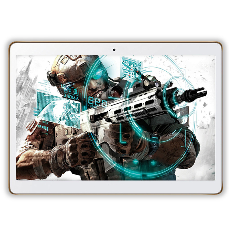 10 Inch Original 4G LTE Phone Call Octa Core Tablet PC Android 7.0 4GB RAM 64GB ROM WiFi GPS FM Bluetooth Tablets 1280x800 IPS 10 inch tablet pc android 7 0 1920 1200 ips 4gb ram 128gb rom 4g fdd lte phone call octa core gps tablet wifi bluetooth