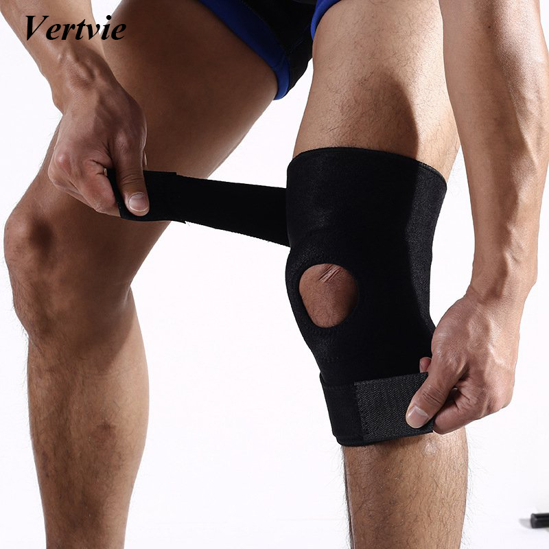 Sexy-Ladies Vertvie Spring Knee Brace Protective Gear Summer Breathable Knee Support Outdoor Climbing Kneepad Sports Basketball Running