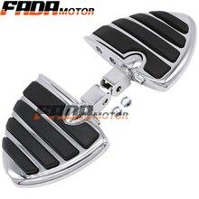 Front & Rear Foot Pegs Footrest for Honda VTX 1800CF 1300C 02-09 Shadow VT1100 Sabre Spirit 99-07 ACE Aero VT750 00-15 (099)