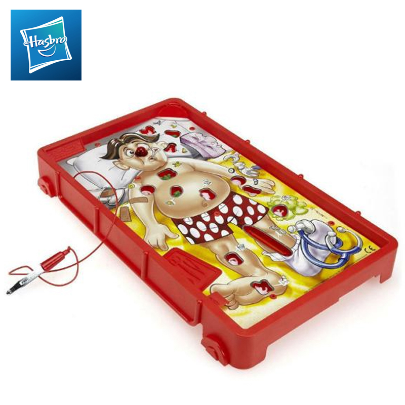 Board Game Doctor Toys Hasbro Games Surgery Updated B1155H toy fishing rods fish magnetic game board wooden puzzle