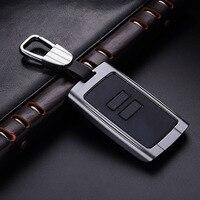 QHCP Aluminum Alloy Car Flip Key Case Remote Cover Shell For Renault Koleos Kadjar Folding Keys Car Styling Fashion Smart Key