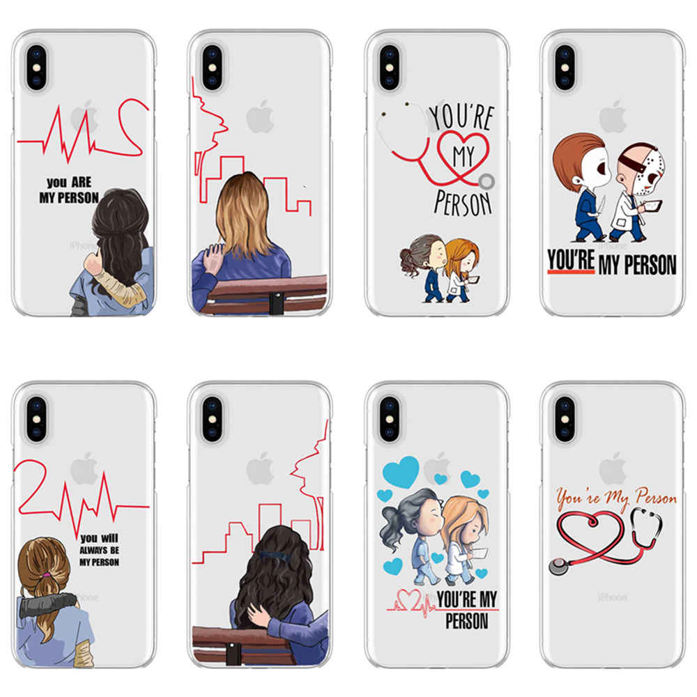 Quadro Grey's Anatomy You're my person Soft TPU cover phone case ...