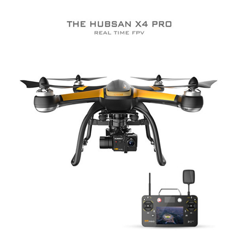 Original Hubsan X4 Pro H109S High & Standard Edition 5.8G FPV RC Drone With 1080P HD Camera 3 Axle Gimbal GPS Quadcopter RTF yuneec typhoon h 5 8g fpv drone with realsense module cgo3 4k camera 3 axis gimbal 7 inch touchscreen rc hexacopter rtf
