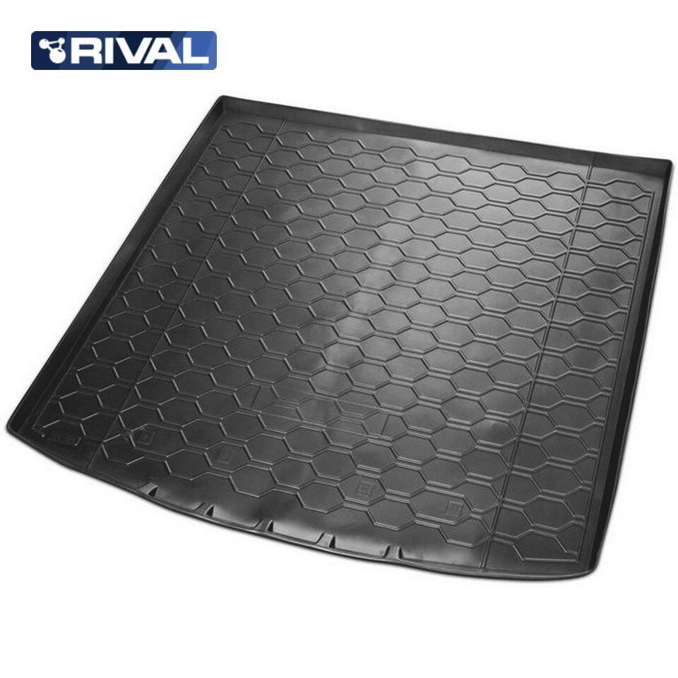 For Skoda Kodiaq 2017-2019 (5-seats) trunk mat Rival 15105002 все цены