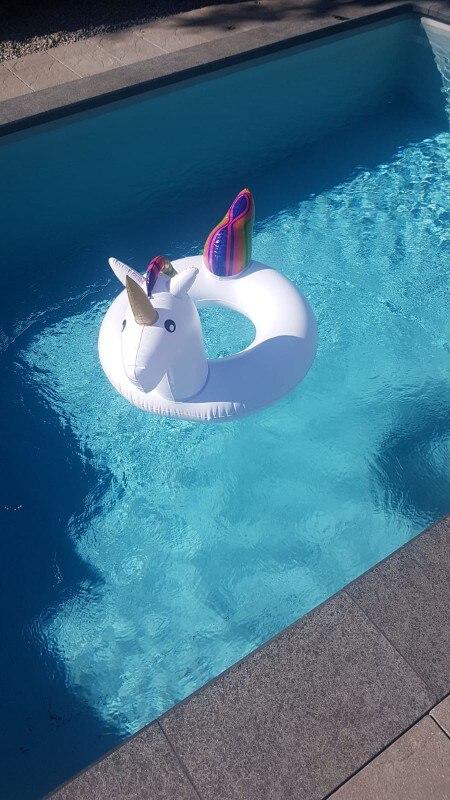Anéis de natação piscina natação flutuador