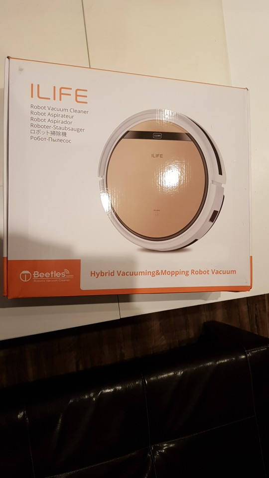 ILIFE V5s Pro Robot Vacuum Cleaner Dust Sweeping Wet Mopping for Pet hair Powerful suction Sterilize Automatic Recharge