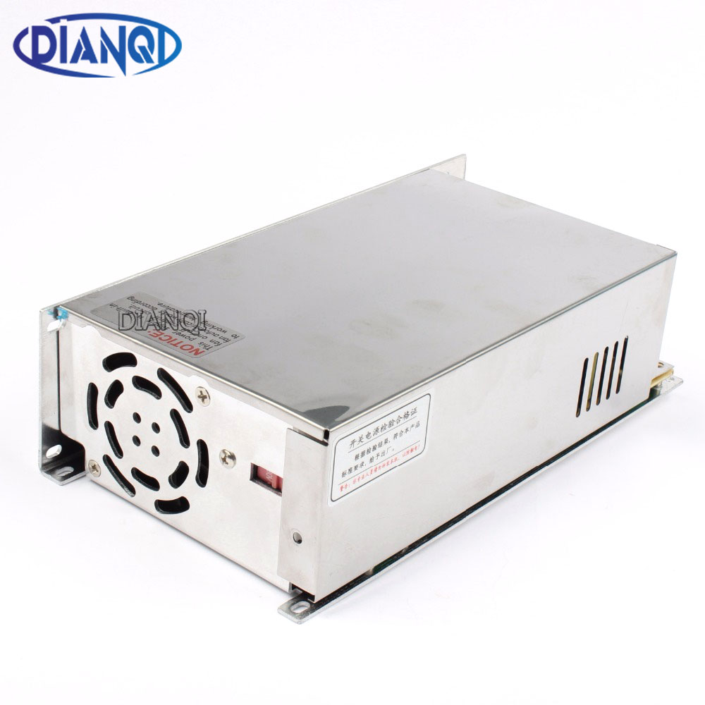 DIANQI led power supply switch 600W 48v 12.5A ac dc converter Input 110V S 600w 48v switching power supply 12.5A S 600 48