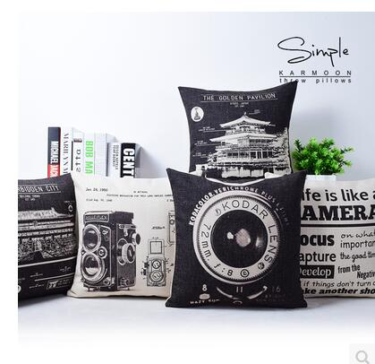 Related Product For Vintage Car Print Pillow De