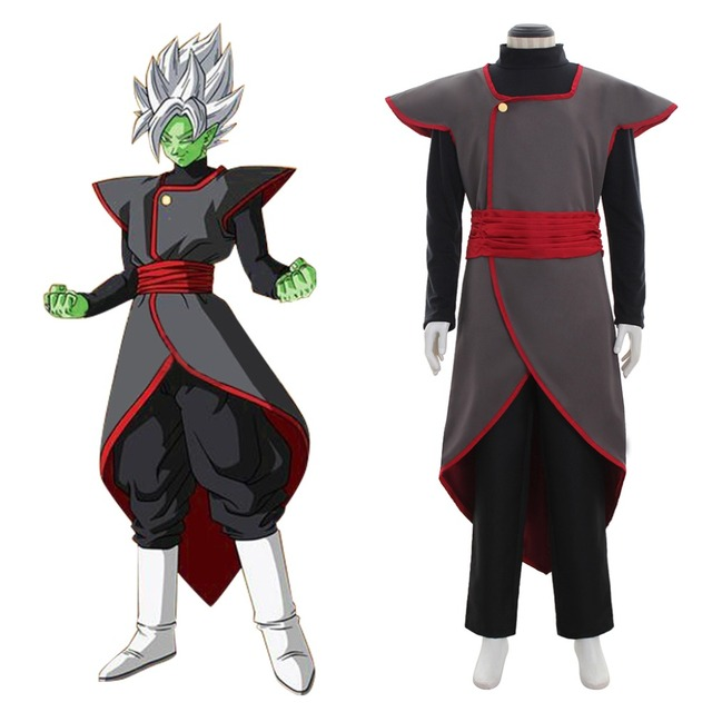 Dragon Ball Super Son Goku Black Fusion Zamasu Kai Cosplay