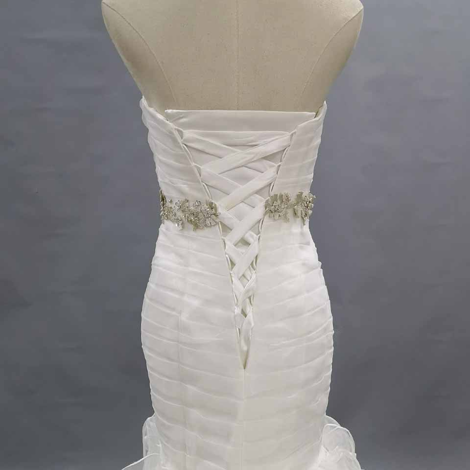 Sweetheat Wedding Dresses Ruffled Bridal Gown Only One Piece In