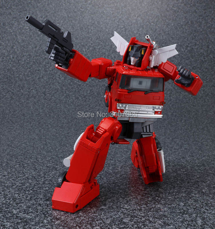 Transformation G1 MasterPiece MP 33 Inferno Firetruck Model MP33 KO Collection Version Action Figure Robot Toys