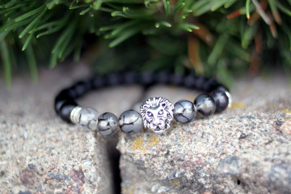 Женский браслет из натурального камня с Алиэкспресс