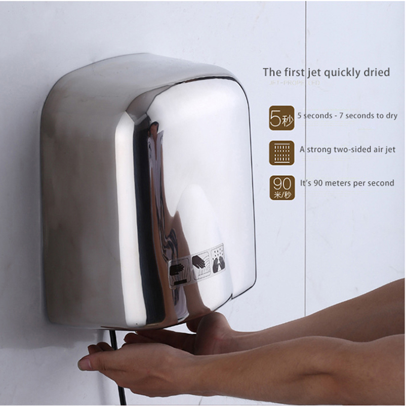 Bathroom Hand Dryers Style Delectable Itas8855 Stainless Steel Dry Hand Dryer Induction Style Hand Dryer . Design Decoration