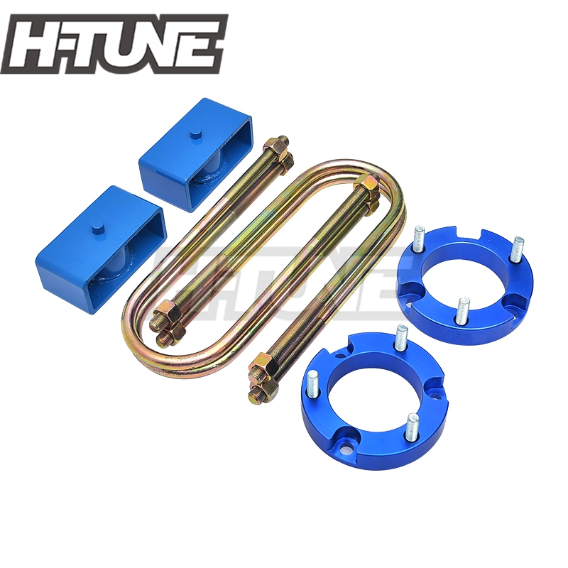 H-TUNE 32mm Front Strut Spacer 51mm Rear Suspension Block Lift Kit 4WD For Ranger T6 BT50 2012+ lift kit for toyota hilux revo