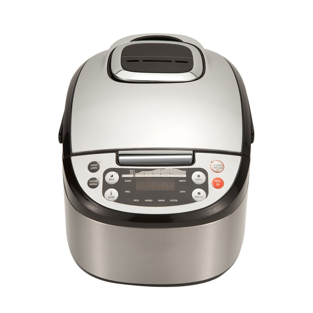 Kitchen robot Multifunction with Voice, Programmable 24 H. Capacity 5L. 4 menus 8 Programs and 180 °C