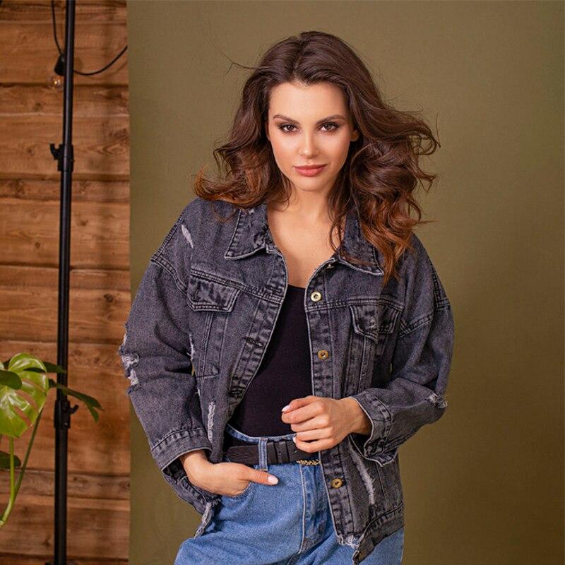 Jacket denim C.H.I.C female CHIC TmallFS summer flap button pocket stripe collar denim jacket