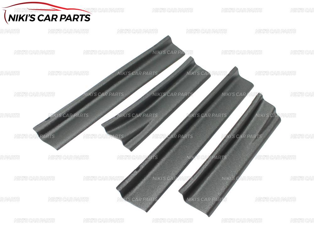 Image 2 - Plate on door sills for Renault Duster 2010 2017 ABS plastic trim accessories protection of scuff guard car styling decoration-in Chromium Styling from Automobiles & Motorcycles