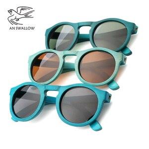 Image 5 - Yüksek kaliteli el yapımı bambu moda güneş gözlükleri kadın lüks polarize UV400 güneş gözlüğü bambu ahşap plaj güneş gözlüğü adam