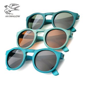 Image 5 - high quality Handmade Bamboo fashion sunglasses woman luxury Polarized UV400 sunglasse Bamboo Wood  Beach Sunglasses for man