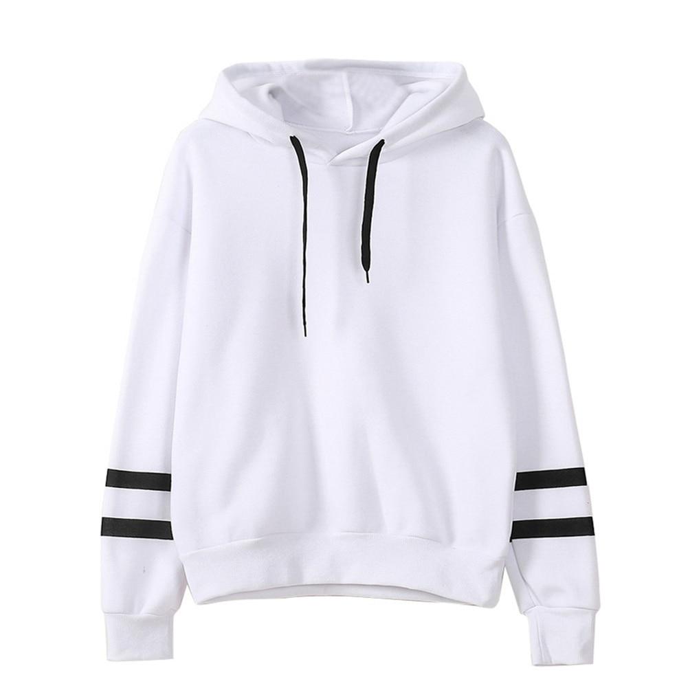 New Autumn Hooeded Sweatshirt Women  Long Sleeve Pullover Streetwear  Hoodies