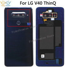 For LG V40 ThinQ Back cover backcover battery cover Replacement Parts(China)