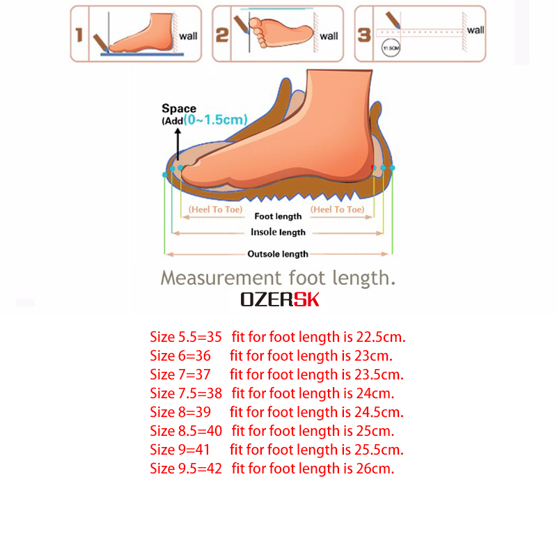 OZERSK New Genuine Leather Women s Shoes Slip On Woman Butterfly knot Flat Shoe Flexible Loafers