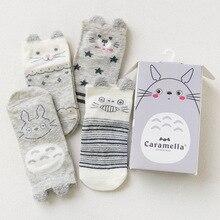 Комплект детских носков, 4 пары, totoro'