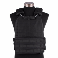 Tactical Vest Military Paintball Molle Adjustable Elasticity Chest Vest Outdoor Combat Assult Sports Loading Waterproof Material