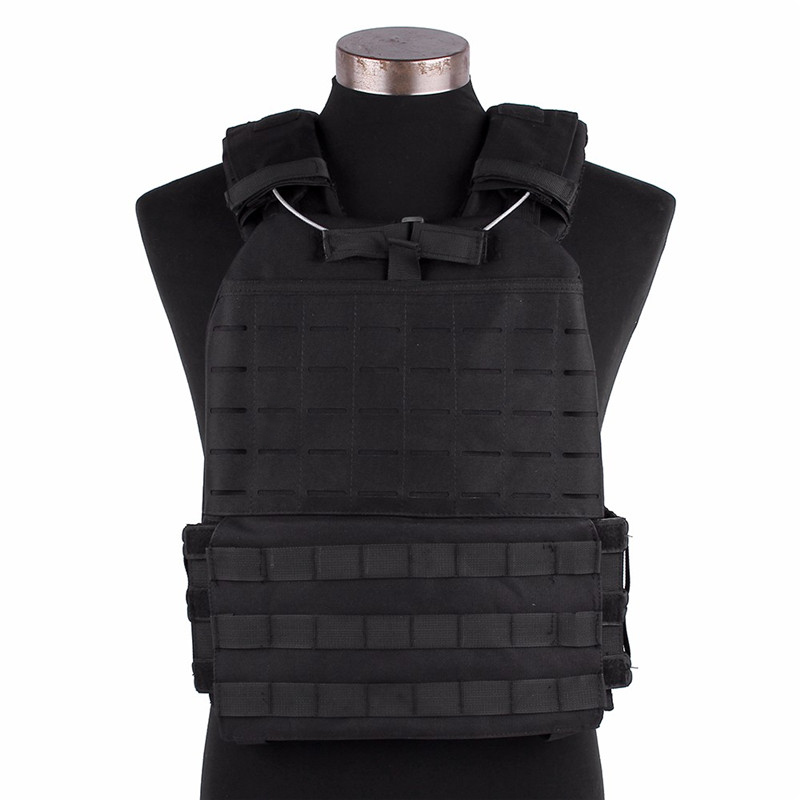 Tactical Vest Navy Molle System Outside Fight Sports activities Loading Adjustable Elasticity Chest Vests 600D Waterproof Materials