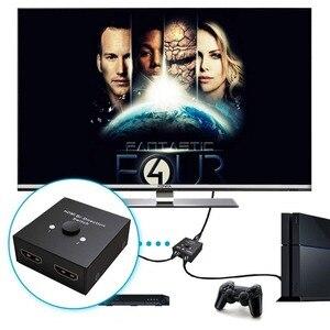 Image 5 - HDMI Splitter Adattatore, Mini HDMI Switch Bidirezionale Ingresso, AD ALTA RISOLUZIONE, Supporto Ultra HD 4 K, 3D, 1080 P, per HDTV/DVD/DVR ecc.
