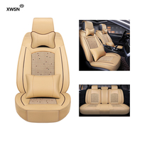 Ice silk car seat cover for audi a3 8p a1 a3 a4 a4l a5 a6 a6l a7 a8 8p 8v a4 b6 b7 b8 a6 c5 c6 c7 q5 q7 tt Car seat protector