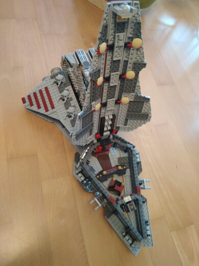 LEPIN 05042 Star Wars Republic Fighting Cruiser Block Set (1200Pcs) photo review