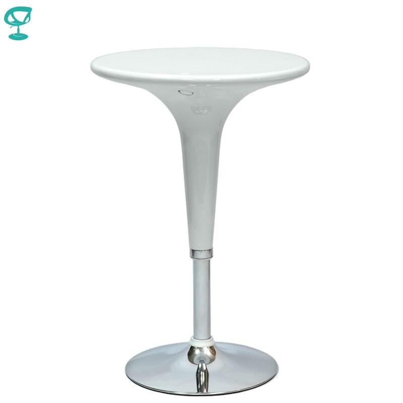 94917 Barneo T-1 plástico alto desayuno Interior mesa de Bar mesa de cocina muebles de comedor blanco envío gratis en Rusia