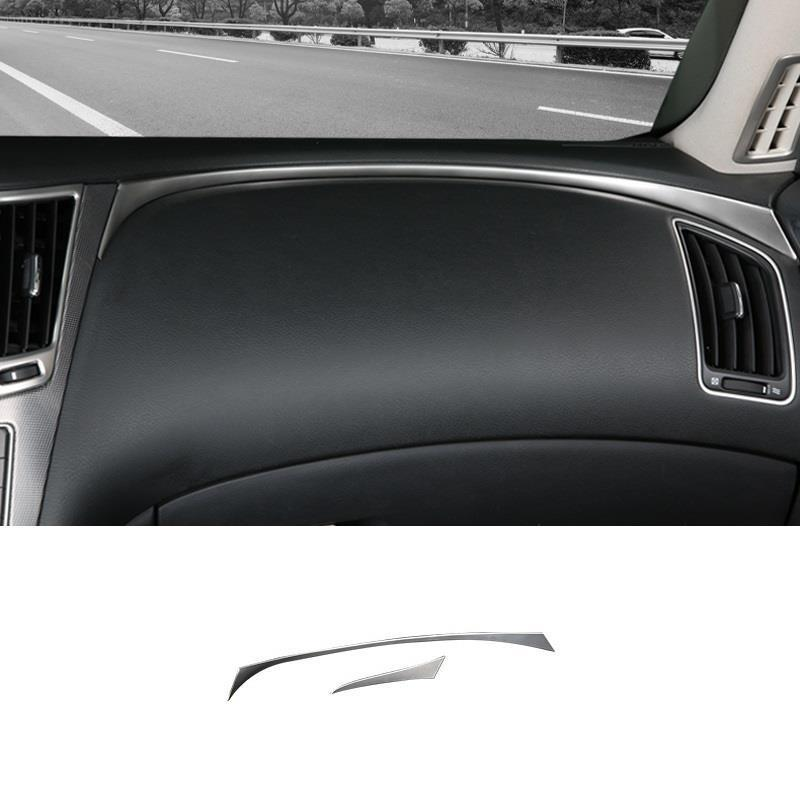 Door Handle Control system Audio speaker interior decorative sticker strip car styling accessory trim 16 FOR Infiniti Q50