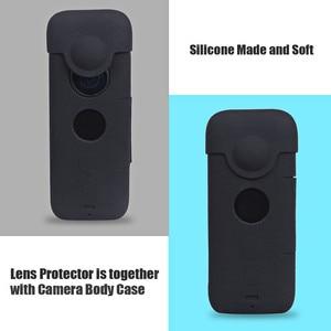 Image 4 - Insta360 One X 실리콘 보호 케이스 (Insta360 용 렌즈 커버 포함) X 액션 카메라 액세서리 Anti Scratch/Dust Cover