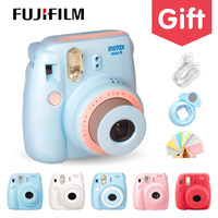 Genuine Compact Fuji Fujifilm Instax Mini 8 Camera Instant Printing Regular Film Snapshot Shooting Photos White