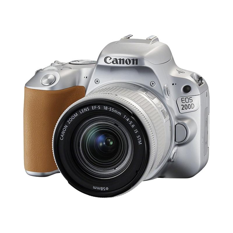 Фото - DSLR Camera Canon EOS 200D silver сумка для видеокамеры 100% dslr canon nikon sony pentax slr