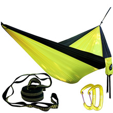Feistel 210T Nylong Double Person Hammock Outdoor furniture