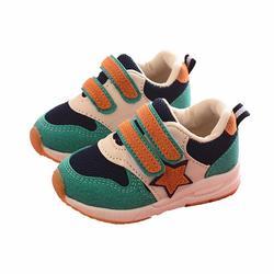 Весенне-осенняя новая детская обувь на мягкой подошве, Удобная нескользящая обувь из искусственной кожи, модная повседневная детская